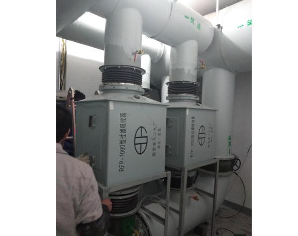 人防通风RP1000过滤吸收器安装